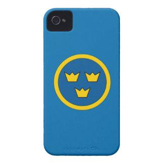 Swedish Three Crowns Flygvapnet iPhone 4 Case-Mate Case