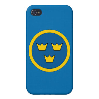 Swedish Three Crowns Flygvapnet iPhone 4 Cover