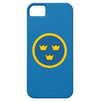 Swedish Three Crowns Flygvapnet Scandinavian iPhone 5 Cases