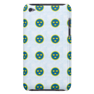 Swedish Three Crowns Tile Pattern Barely There iPod Cover