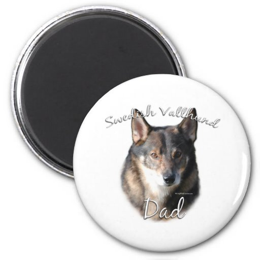 Swedish Vallhund Dad 2 Fridge Magnet