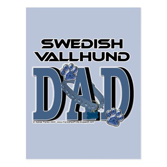 Swedish Vallhund DAD Postcard