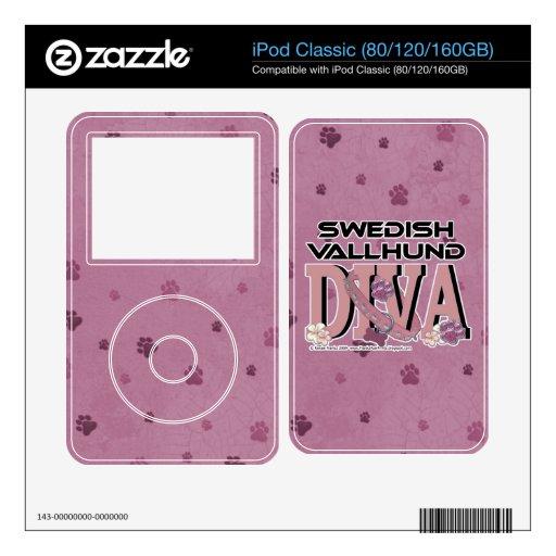 Swedish Vallhund DIVA Decal For The iPod