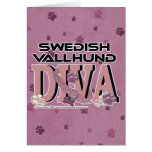 Swedish Vallhund DIVA Greeting Cards
