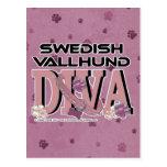 Swedish Vallhund DIVA Postcard