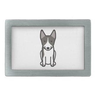 Swedish Vallhund Dog Cartoon Belt Buckle