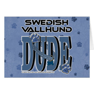 Swedish Vallhund DUDE Card