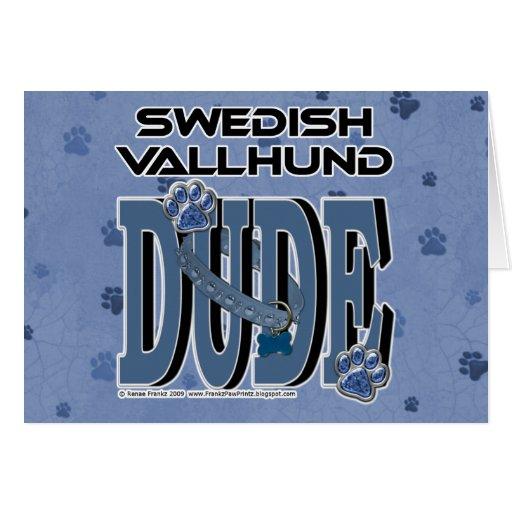 Swedish Vallhund DUDE Cards