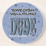 Swedish Vallhund DUDE Coaster