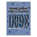 Swedish Vallhund DUDE Greeting Card