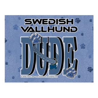 Swedish Vallhund DUDE Postcard