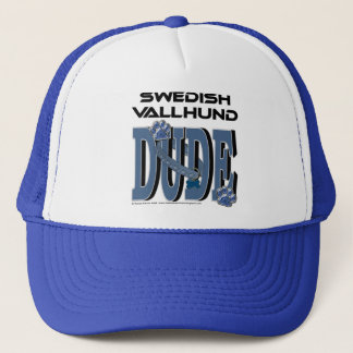 Swedish Vallhund DUDE Trucker Hat