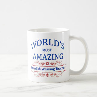 Swedish Weaving Teacher Coffee Mug