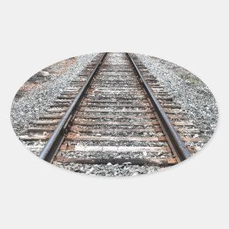 Sweedler Preserve Rail Oval Sticker