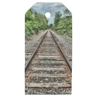 Sweedler Preserve Rail Wooden Gift Tags