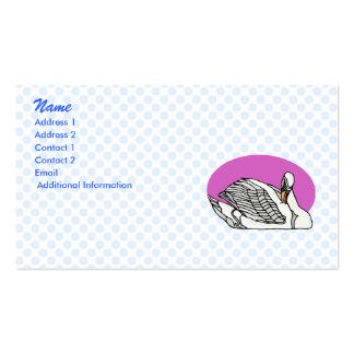 Sweemer Swan Business Card