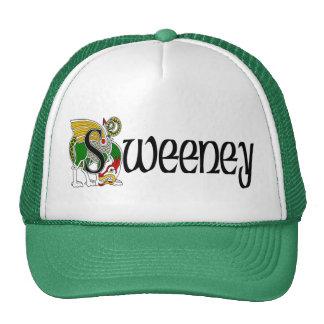 Sweeney Celtic Dragon Cap Trucker Hat