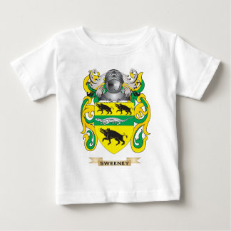 Sweeney Coat of Arms (Family Crest) Baby T-Shirt