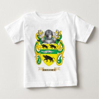 Sweeney family crest sweeney coat of arms t shirt zazzle altavistaventures Image collections