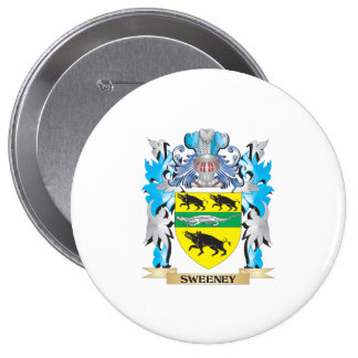 Sweeney Coat of Arms - Family Crest Button