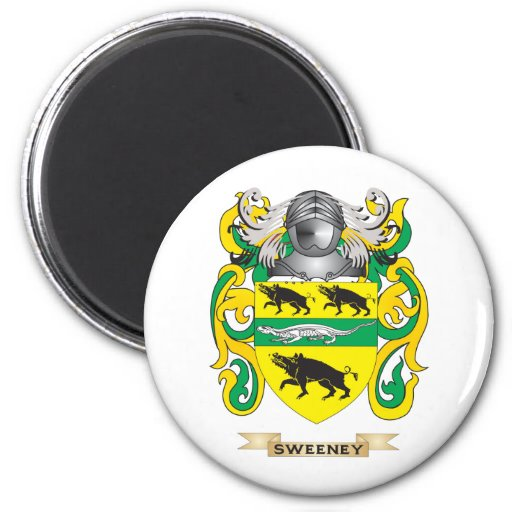 Sweeney Coat of Arms (Family Crest) Magnets