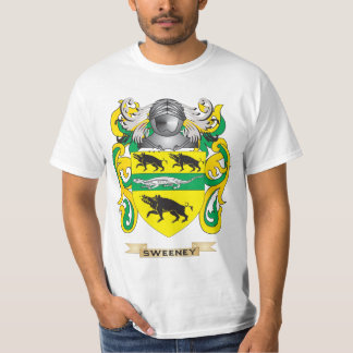 Sweeney Coat of Arms (Family Crest) T Shirt