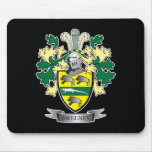Sweeney Coat of Arms Mouse Pad