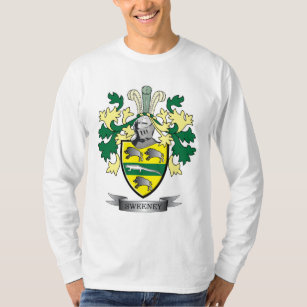 Surname family crest gifts on zazzle sweeney coat of arms t shirt thecheapjerseys Gallery