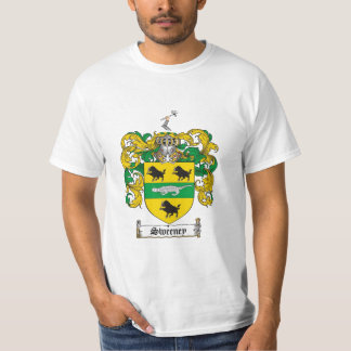 Sweeney Family Crest - Sweeney Coat of Arms Shirt