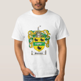 Crest family t shirts shirt designs zazzle sweeney family crest sweeney coat of arms t shirt thecheapjerseys Gallery