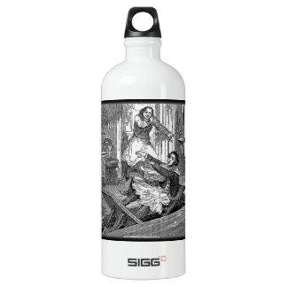 Sweeney Todd-Barbers Chair-Penny Dreadful Aluminum Water Bottle
