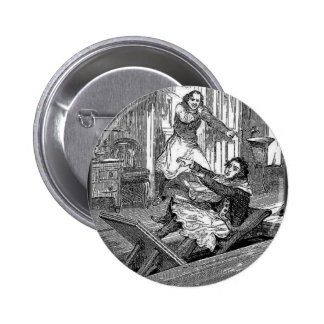 Sweeney Todd-Barbers Chair-Penny Dreadful 2 Inch Round Button