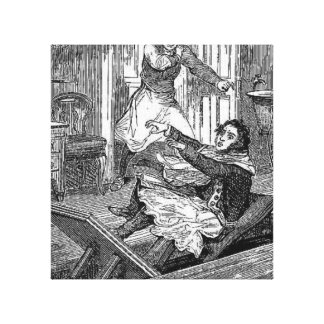 Sweeney Todd-Barbers Chair-Penny Dreadful Canvas