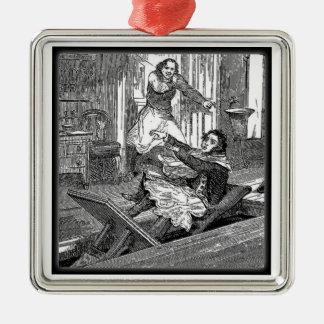 Sweeney Todd-Barbers Chair-Penny Dreadful Metal Ornament