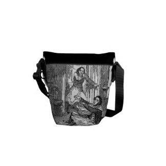 Sweeney Todd-Barbers Chair-Penny Dreadful Mini Bag