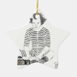 Sweeney Todd Ceramic Ornament