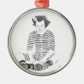 Sweeney Todd Metal Ornament