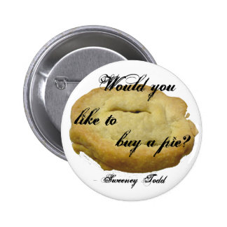 Sweeney Todd Pie 2 Inch Round Button