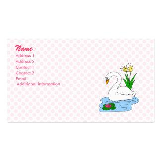 Sweenie Swan Business Card