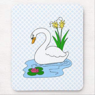 Sweenie Swan Mouse Pad