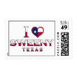 Sweeny, Texas Postage