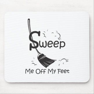 Sweep Me Off My Feet Mouse Pad