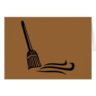 Sweeping Broom - Clean Sweep Card