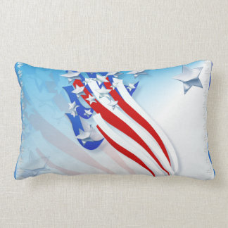 Sweeping Old Glory Pillow