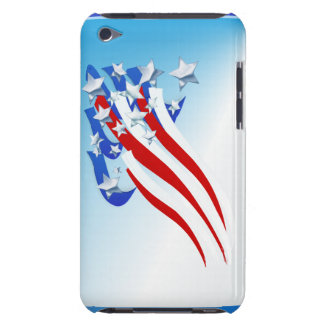 Sweeping Old Glory Pod Touch Cases
