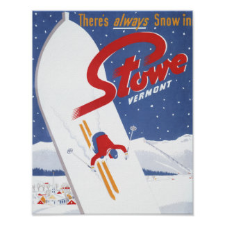 Sweeping S - There's Always Snow Promo Poster