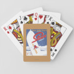 Sweeping S - There's Always Snow Promo Poster Deck Of Cards