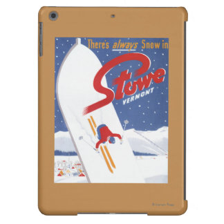 Sweeping S - There's Always Snow Promo Poster iPad Air Cases