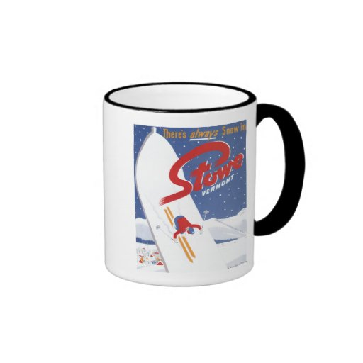 Sweeping S - There's Always Snow Promo Poster Mugs