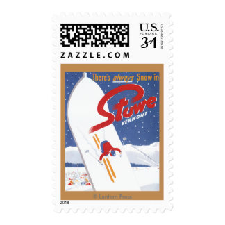 Sweeping S - There's Always Snow Promo Poster Postage
